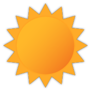 Sunny, Click for detailed weather for R3G0B3